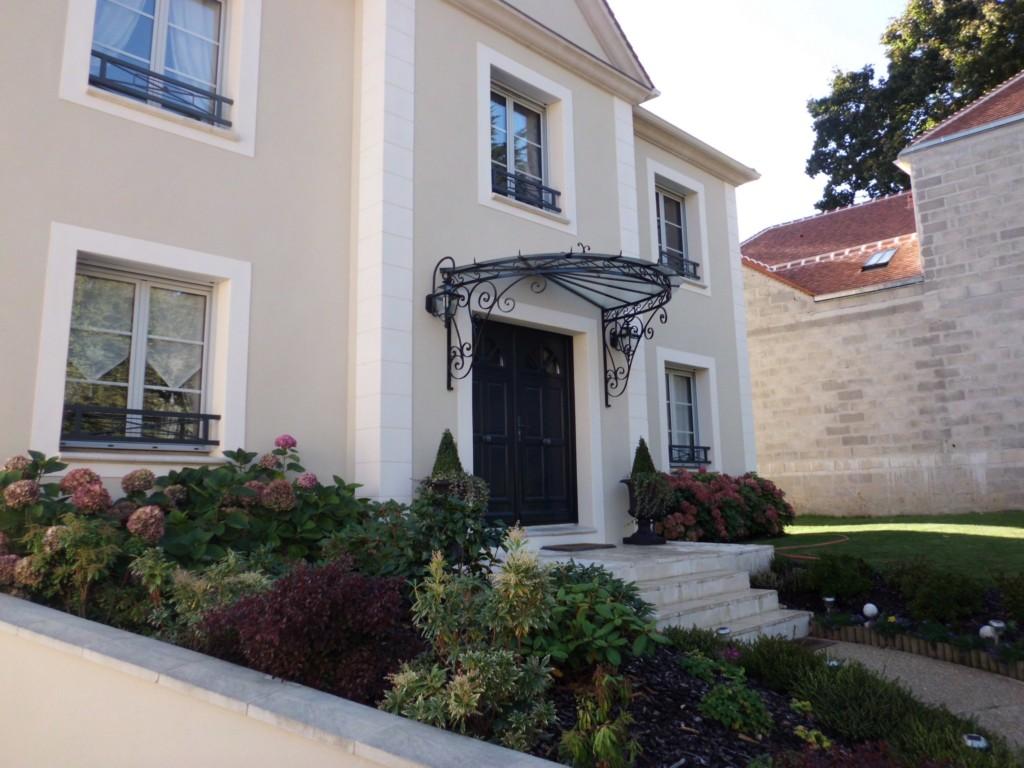 Marquises et portes d entr e l art de faire - Marquise maison moderne ...